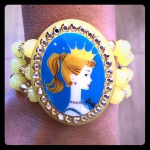 Tarina Tarantino Barbie Crown Cuff Bracelet 👑